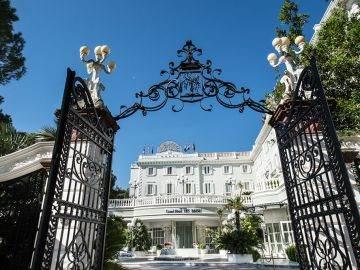 Grand Hotel Des Bains cancello entrata